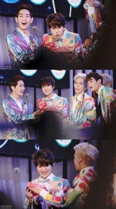 Onew, Taemin, Jonghyun & Minho (SHINee) @ Mnet 20's Choice Award 13.07.18 ~  Source : http://ohkr29.blog.me/