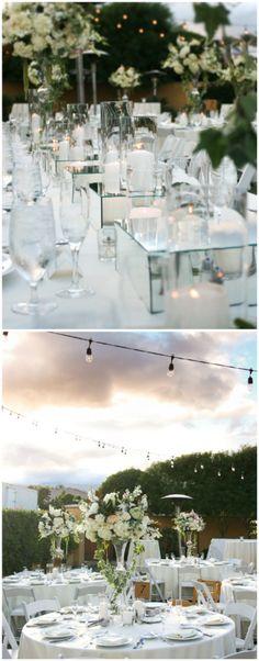 Indian Wells wedding centerpieces Wedding Table Centerpieces, Wedding Decorations, Wedding Ideas, Table Decorations, Mirror Box, Wedding Planners, Resort Spa, Wells, Regency