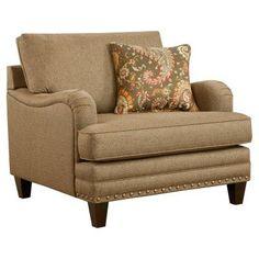 Chelsea Home Furniture Winchendon Arm Chair - Hanson Cypress - 555962-C-HC