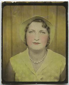 tinted photograph .... yellow