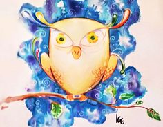 "Check out new work on my @Behance portfolio: ""Owl"" http://be.net/gallery/57467753/Owl"