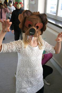 Cardboard Animals, Animal Masks, The Twenties, Workshop, Third, Projects, Teaching, Art, Costume