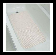 Extra Long Quilted Bath Mat Bath Mat, Bathtub, Bathroom, Rugs, Home Decor, Standing Bath, Washroom, Farmhouse Rugs, Bathtubs