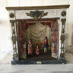 Antique 1885 French Toy Opera Theater Doll Marionet Puppet from bridgetscc on…