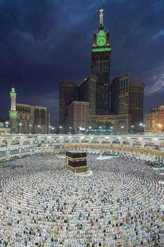 """A place which is """"house of Allah (SWT)"""". Beautiful overview of Kaaba. May Allah invite us on sacred journey. Islamic Images, Islamic Pictures, Islamic Art, Mecca Masjid, Masjid Al Haram, Islam Religion, Islam Muslim, Islam Beliefs, Mekka Islam"""