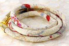 IVORY GARDEN Muted Parchment Soft Colors Plum Wine by Chiriwraps, $24.00