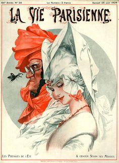 Chéri Hérouard (1881 - 1961). Le présage de l'été : A chacun selon ses mérites. La Vie Parisienne, 26 Juin 1926. [Pinned 6-ii-2015]
