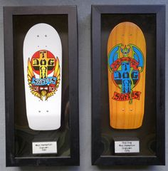 Tech Deck Collector Series RED DOG DOGTOWN lot of 2 Wes Humpston 1980 1978 #SpinMaster