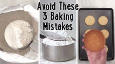 Avoid These 3 Common Baking Mistakes