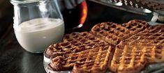 Rapeat vohvelit - Reseptit - Arla Waffles, Ice Cream, Sweets, Cookies, Breakfast, Desserts, Recipes, Sweet Stuff, No Churn Ice Cream