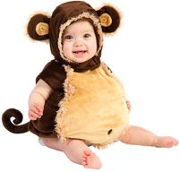 Baby and Toddler Melvin Monkey Costume - Baby Costumes