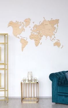 White Wood World Map wall decor by WoodPecStudio. Travel push pin maps for wall office decor, bedroom and living room decor, hallway decoration. World maps from wood for wall decor in farmhouse style. Push Pin World Map, World Map Wall Art, Map Wall Art, Anniversary Gift, Wooden Travel Push Pin Map, Housewarming Gift #woodenwalldecor #babyroomdecor #kitchenwalldecorideas