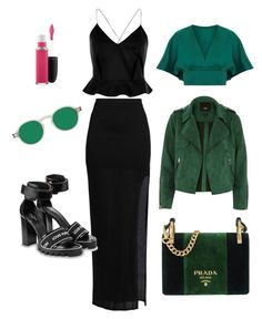 #8 by t-maria-p on Polyvore featuring polyvore, fashion, style, River Island, Helmut Lang, Prada, MAC Cosmetics and clothing