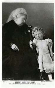 Queen Victoria and grandson Edward VIII , (David), who later abdicated his throne to marry Wallis Simpson, not only an American, but also a married woman already once divorced. He was succeeded by his younger brother Albert (Queen Elizabeth's father), who chose the regnal name George VI. With a reign of 326 days, Edward was one of the shortest-reigning monarchs in British and Commonwealth history. He was never crowned.