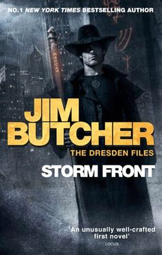 Book review: Jim Butcher's Storm Front (The Dresden Files #1)   Cira for the Loot