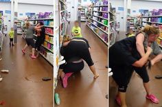saw these bitches fighting in walmart today - funny ghetto pictures, funny pictures, ratchet pictures
