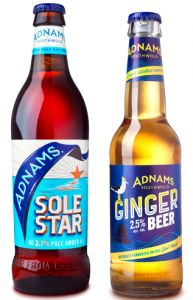 Low-​alcohol Adnams bottled beers