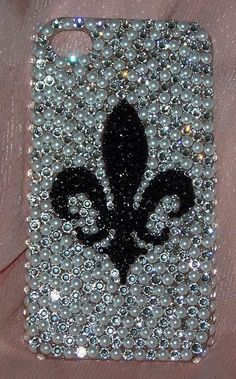 Bling Cell Phone Covers : Swarovski Crystal iphone Cell Phone Covers by The Dazzle Diva