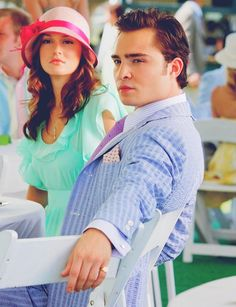 chuck bass, always so well dressed.