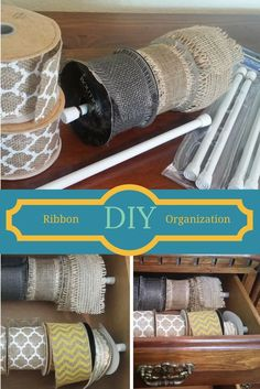 DIY Ribbon Organizat