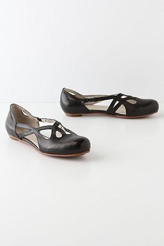 Open & Closed Ballerinas  #anthropologie