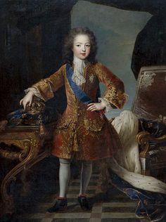 Louis 15 france 1710-2 - Luis XV de Francia - Wikipedia, la enciclopedia libre