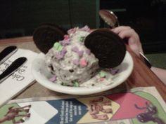 Mickey ice cream at Disney World!