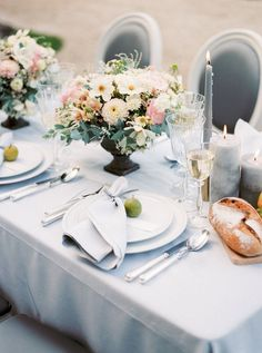 Organic French Chateau Inspiration by Booth Photographics | Wedding Sparrow