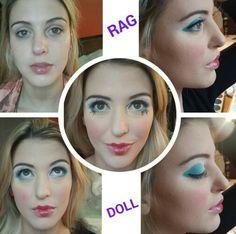 Rag Doll Make up by ME ( facebook / Monica Asesoria de Imagen y Mas )