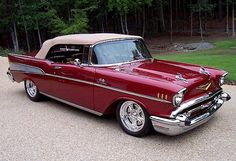 1957 Chevy Bel Air Fuelie RagTop | Flickr - Photo Sharing!