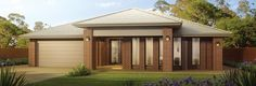 JG King Home Designs: The Alexandra Sterling Facade. Visit www.localbuilders.com.au/builders_victoria.htm to find your ideal home design in Victoria