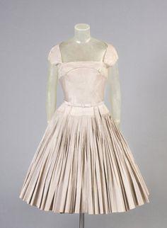 1955 James Galanos Cocktail Dress