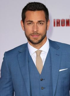 Zachary Levi at event of Iron Man 3 Another hot pic of Chuck....wow.. guess he grew out of his awkward adorably geeky stage and into his OMG FRACKIN HAWT stage