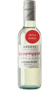 Angove Long Row Moscato 2019 South Australia 187ml - 24 Bottles Just Wine, Liquor License, Organic Fruit, Pretty Green, Sauvignon Blanc, South Australia, White Wine, Wines, Vodka Bottle