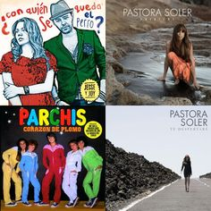 A playlist featuring Jesse & Joy, Pastora Soler, Parchis, and others