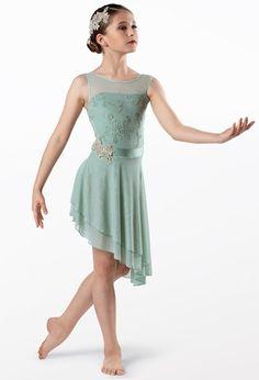 Weissman® Elegant Dresses, Formal Dresses, Lyrical Costumes, Bodice, Neckline, Mesh Skirt, Dance Dresses, Leotards, Perfect Fit