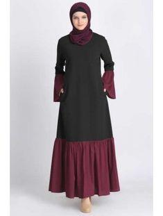 Abaya Online: Modest Islamic Clothing - Another! Abaya Fashion, Muslim Fashion, Modest Fashion, Fashion Outfits, Islamic Fashion, Muslim Dress, Hijab Dress, Modest Wear, Modest Dresses