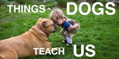 Things #Dogs Teach Us. GREAT Video. Super sweet.