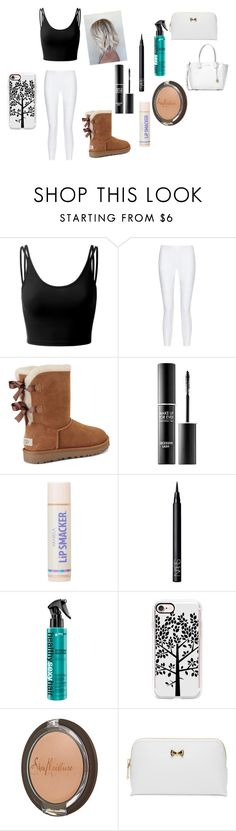 """Untitled #130"" by dbuhs on Polyvore featuring Doublju, 10 Crosby Derek Lam, UGG, MAKE UP FOR EVER, NARS Cosmetics, Casetify, SheaMoisture, Ted Baker and Michael Kors"