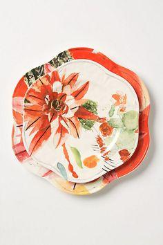 Meadowsweet Dinner Plate - Anthropologie
