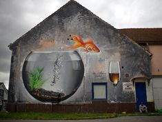 Because there is no comfort in the water Koprivnica street art festival by Lonac