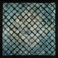 """Les bleus vitraux"", abstract art"