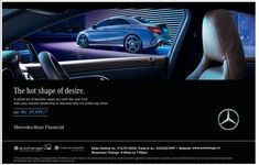 View Mercedes Benz The Hot Shape Of Desire Emi Rs 29999 Ad newspaper. This Ad is collection of Sample Ad at Advert Gallery. Car Banner, Car Advertising, Mumbai, Mercedes Benz, Volkswagen, India, Shape, Graphics, Times