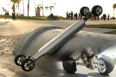 Pramash LLC - Lean Board. Trucks leans and turn in 3 dimensions, making the lean feel like that of a motorcycle.  Kickstarter page: https://www.kickstarter.com/projects/1690474092/lean-skateboard-leans-into-turns