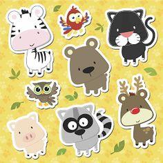 Vetores Download Grátis: Vetores Animais Baby download Grátis