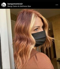 Copper Hair Colors, Hair Dye Colors, Cool Hair Color, Ginger Hair Color, Strawberry Blonde Hair Color, Dyed Blonde Hair, Dye My Hair, Pelo Color Cobre, Color Block Hair