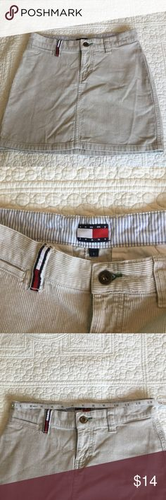 Tommy Hilfiger Corduroy Skirt Size 1 Cute Tommy Hilfiger Corduroy Skirt. Size 1. All skirts buy 3 or more save 20% off. B4 Tommy Hilfiger Skirts