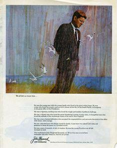 John Kennedy by Bernie Fuchs
