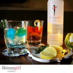 Add a pop of color to your spring cocktails. Try these cute and colorful ice cubes. Just freeze different types of juice and pop them into a Skinnygirl® Vodka cocktail.