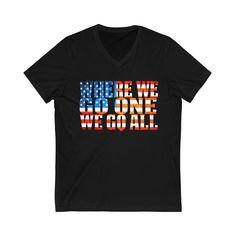 Q Anon Shirt Q T Shirt Qanon Apparel   Where We Go One We Go All WWG1WGA V Neck T Shirt, How To Make, How To Wear, Sweatshirts, Tees, Cotton, Mens Tops, Fashion, T Shirts